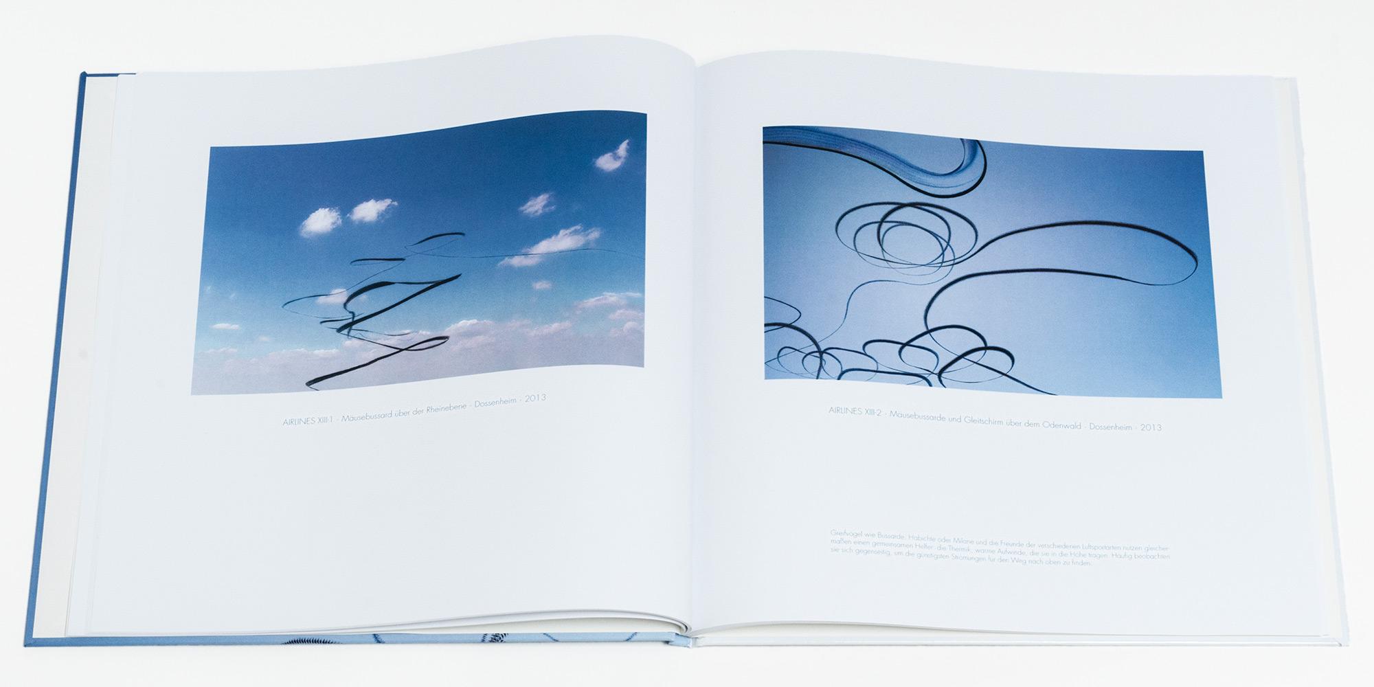"""Katalog """"AIRLINES · Vogelspuren in der Luft"""" · 2., erweiterte Auflage · Innen (Greifvögel)"""