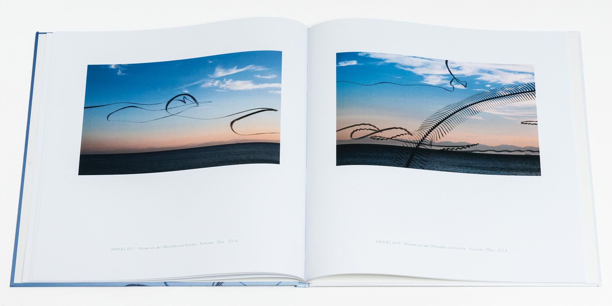 """Katalog """"AIRLINES · Vogelspuren in der Luft"""" · 2., erweiterte Auflage · Innen (Möwen)"""