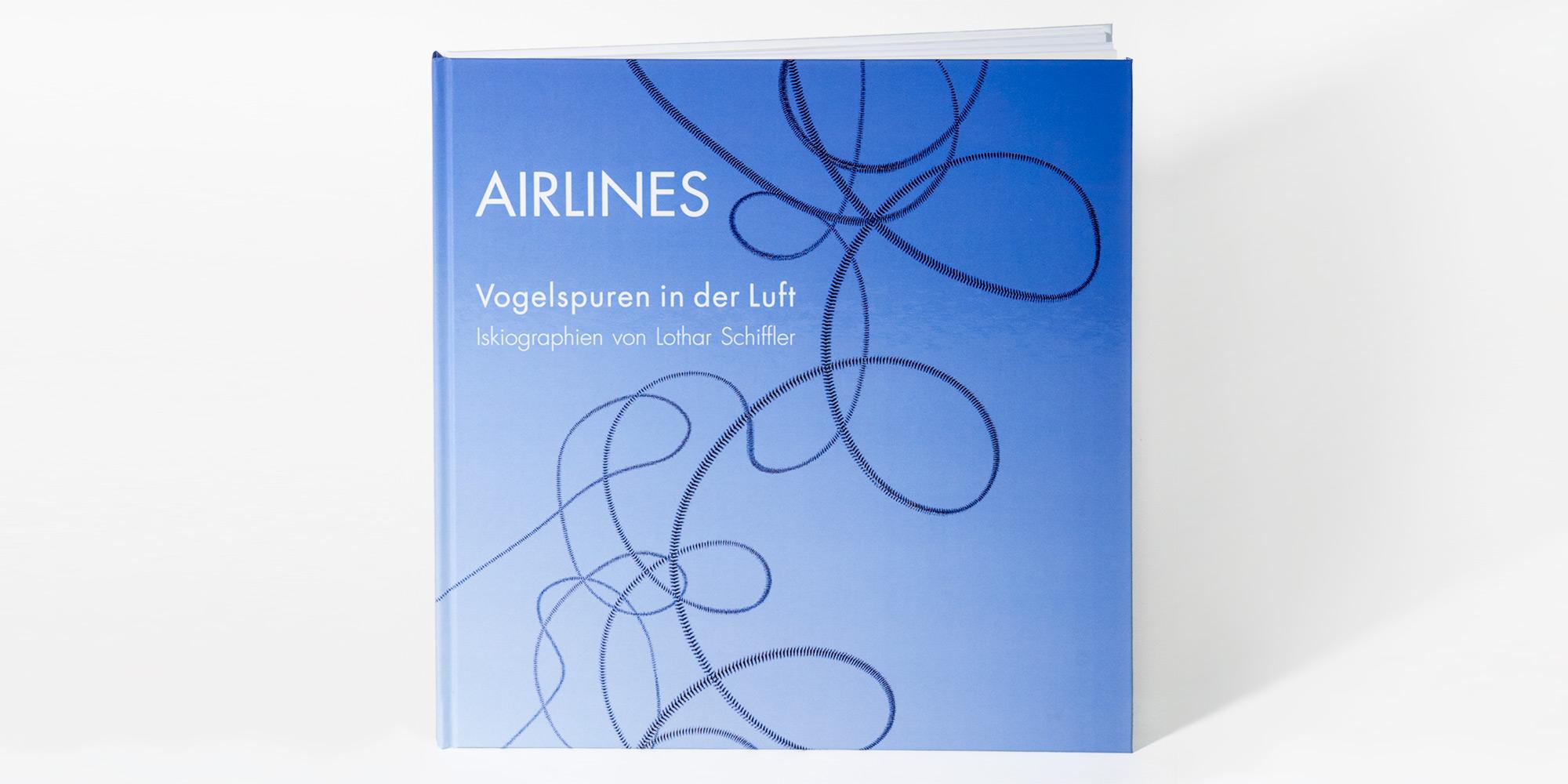 """Katalog """"AIRLINES · Vogelspuren in der Luft"""" · 2., erweiterte Auflage · Titel"""