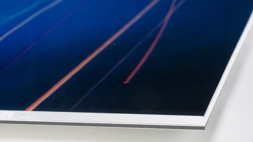NACHTZUG - Laserprint, Diasec® 2 + 4 mm - Detail