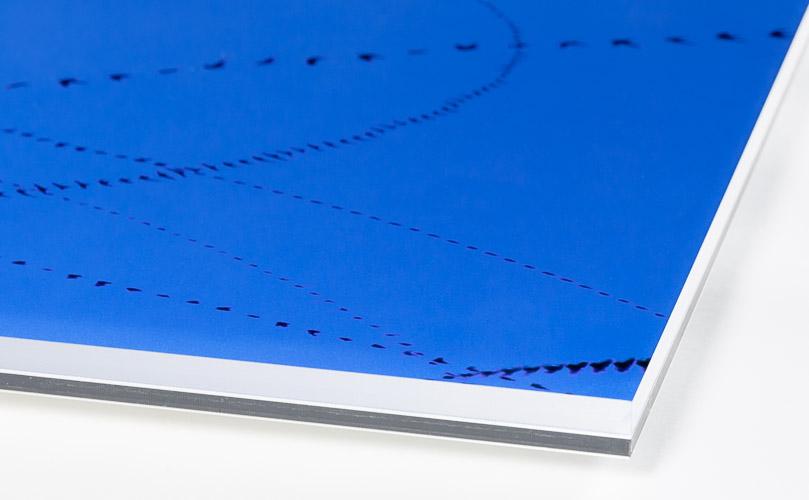 AIRLINES - Laserprint, Alu-Dibond / Acryl 4 + 6 mm - Detail