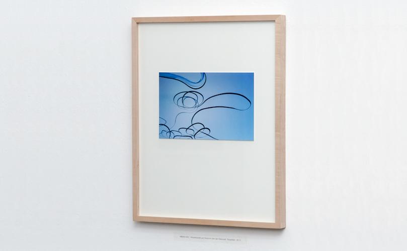 AIRLINES - FineArt-Print in Ahorn-Distanzrahmen
