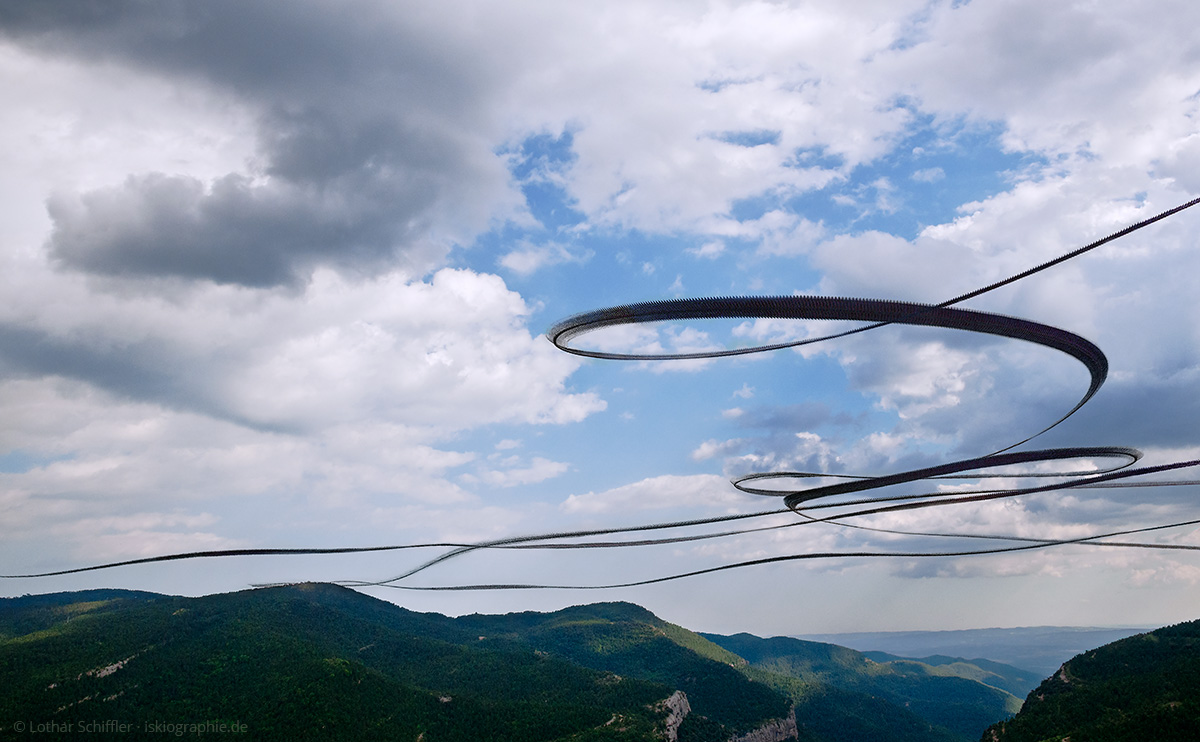 AIRLINES XIII-3 · Adler am Südrand der Pyrenäen · Santuari de Lord · Katalonien · 2013