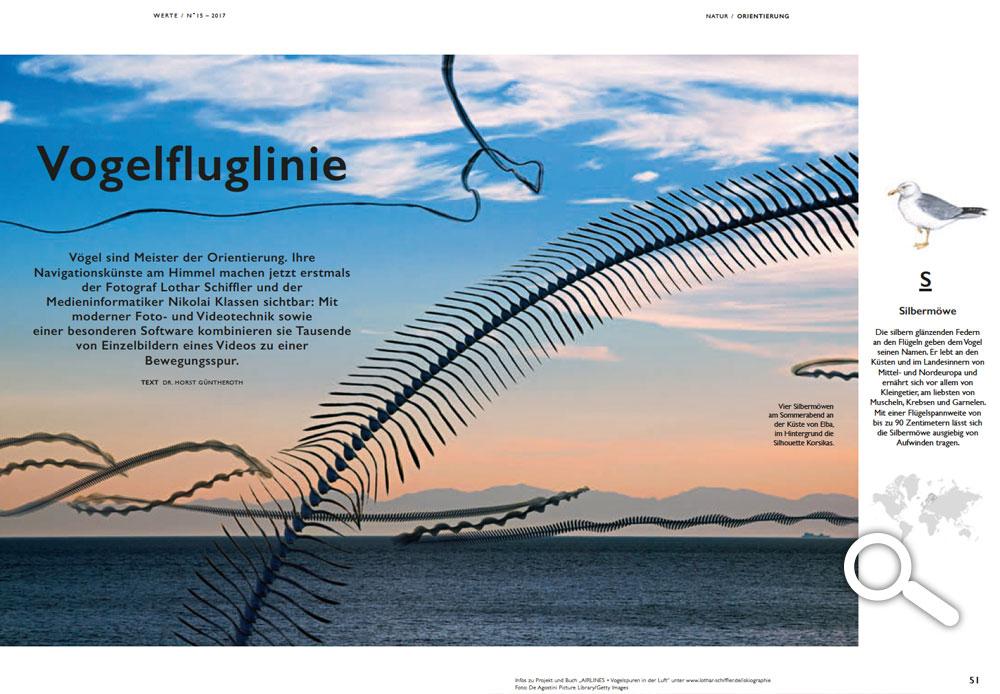 Werte Magazin - Vogelfluglinie - Nr. 15 - 2017