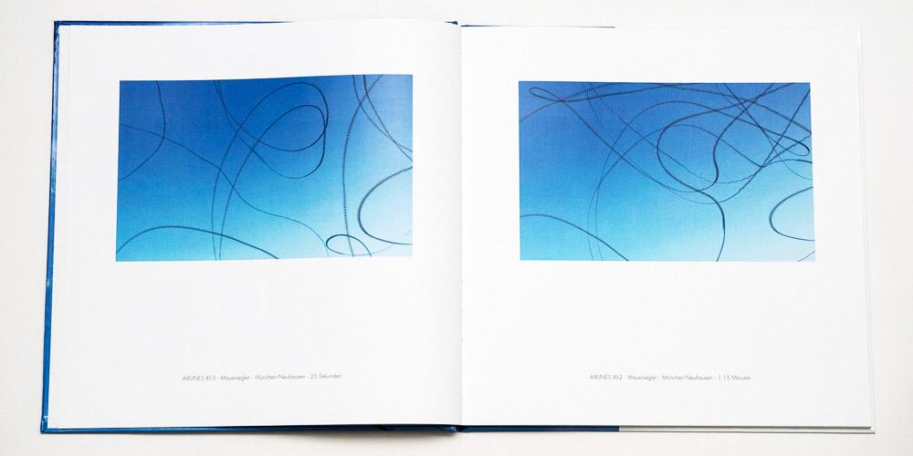 """Katalog """"AIRLINES · Vogelspuren in der Luft"""" · 4., erweiterte Auflage · Innen (Mauersegler)"""