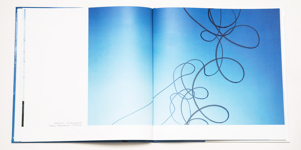 """Katalog """"AIRLINES · Vogelspuren in der Luft"""" · 4., erweiterte Auflage · Innen (Mäusebussarde)"""