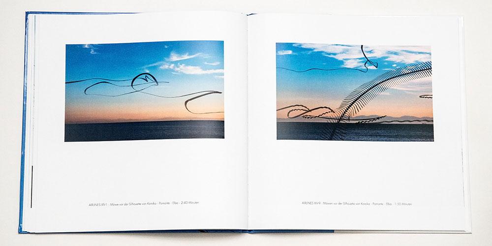 """Katalog """"AIRLINES · Vogelspuren in der Luft"""" · 4., erweiterte Auflage · Innen (Möwen)"""
