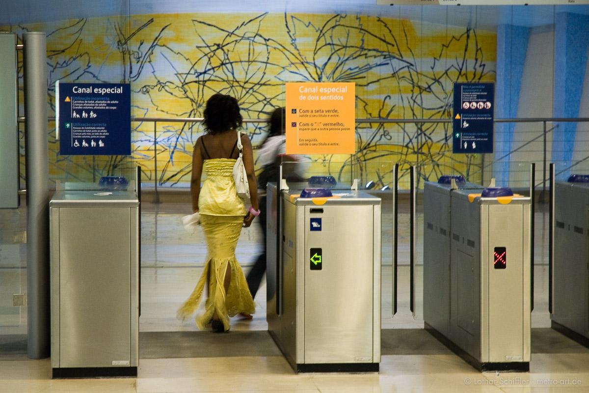 Metropolitano de Lisboa, Metro Lisboa, Station / Estação AMADORA ESTE, Lissabon, Lisbon, Lisboa, Portugal