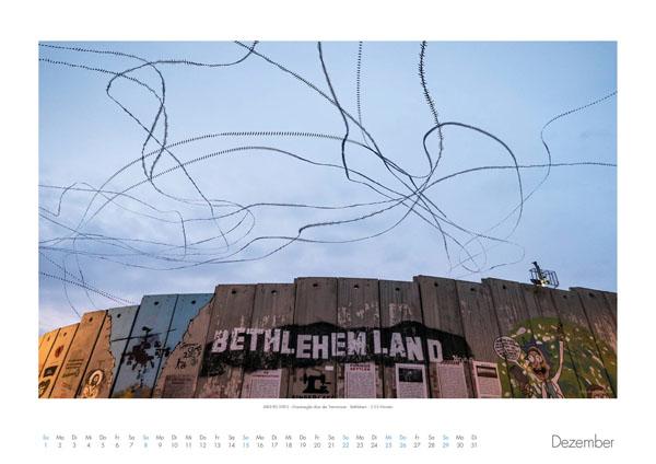 AIRLINES - Vogelspuren in der Luft - Iskiographien von Lothar Schiffler - Kalender 2019 DIN A2 quer - Dezember