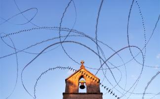 AIRLINES XVII-11 · Mauersegler · Chapelle de Crocq · Creuse · Frankreich · 2:07 Minuten