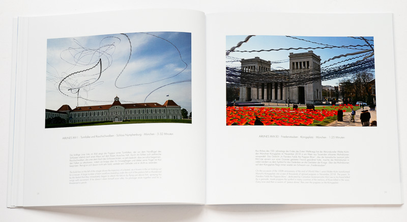 """Katalog """"AIRLINES · Vogelspuren in der Luft"""" · 4., erweiterte Auflage (Voransicht innen)"""