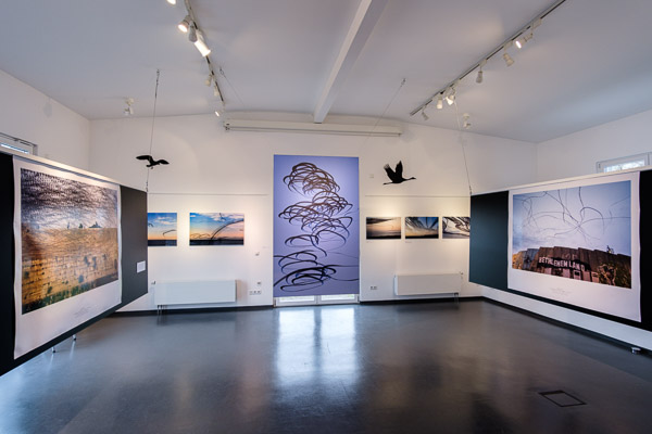 AIRLINES - Bird Tracks in the Air, Exhibition in the Eriskirch Nature Conservation Centre