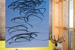 AIRLINES · Vogelspuren in der Luft Iskiographien von Lothar Schiffler Sonderausstellung im Haus der Natur, Feldberg, Schwarzwald