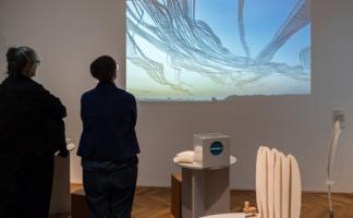 """AIRLINES - Vogelspuren in der Luft"""" in der Ausstellung im GEWERBEMUSEUM, Winterthur"""