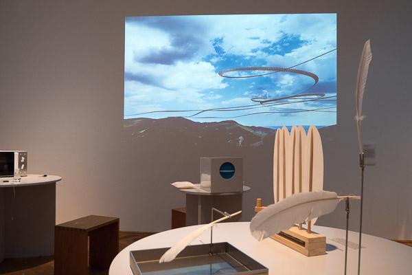 Projektion von Iskiographien im Gewerbemuseum Winterthur