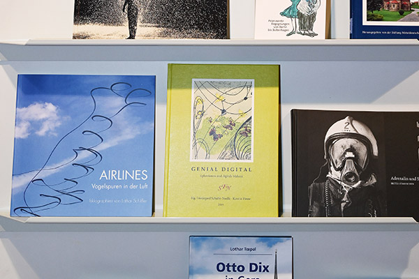 AIRLINES-Bildband in Livro-Bücherregal