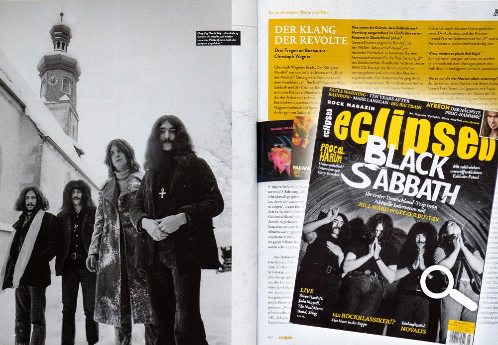 "eclipsed Nr. 190, Mai 2017, Titelstory ""Black Sabbath"""